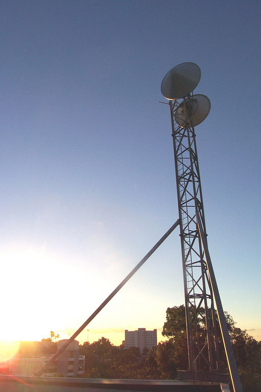 Sunset Tower Dish-XL